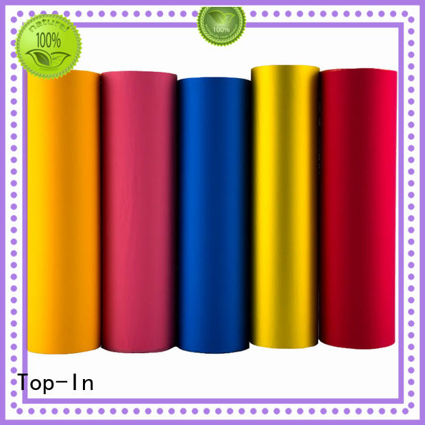 Top-In 30mic velvet film factory for paper box