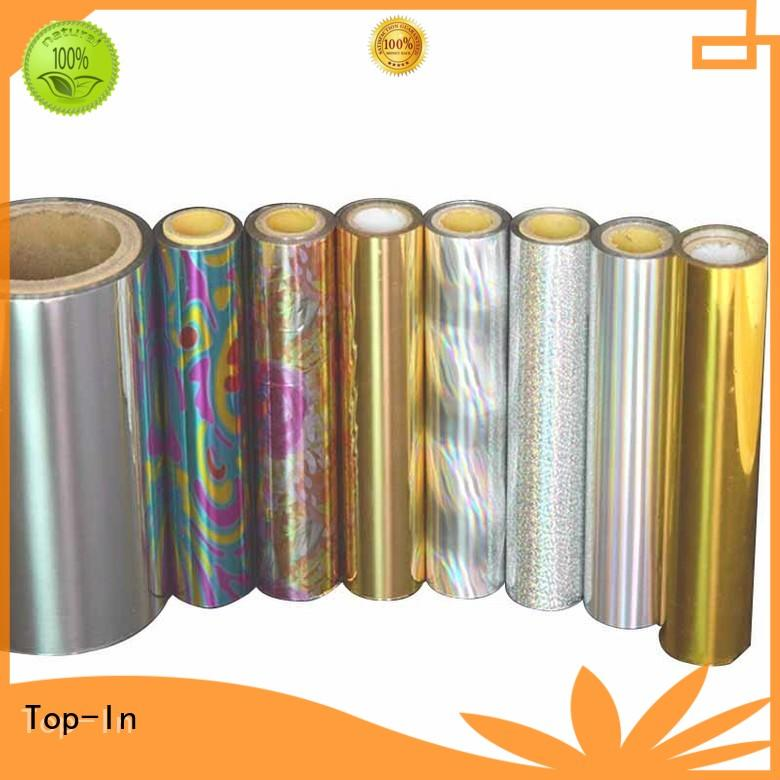 20mic holographic foil directly sale for gift-wrapping paper