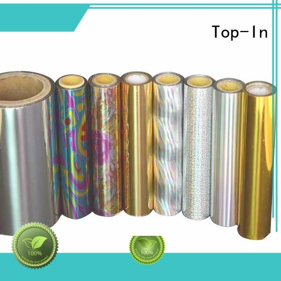 Top-In colorful holographic foil design for cigarette packets