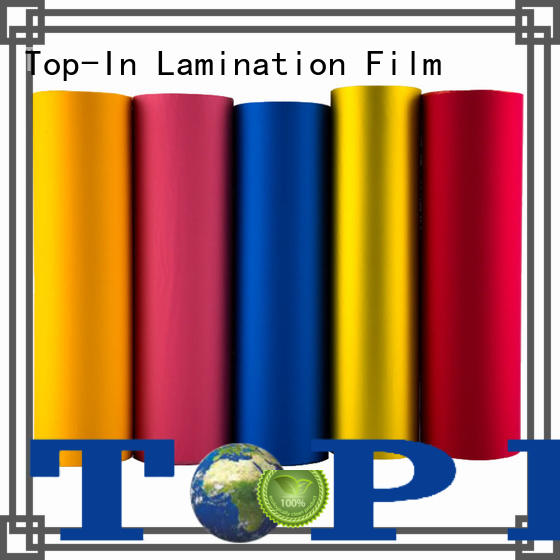 Top-In velvet film factory for digital prints