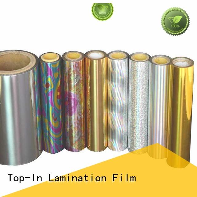Top-In laser film manufacturer for gift-wrapping paper