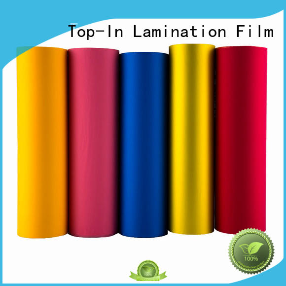 different color soft touch film personalized for luxury packaging