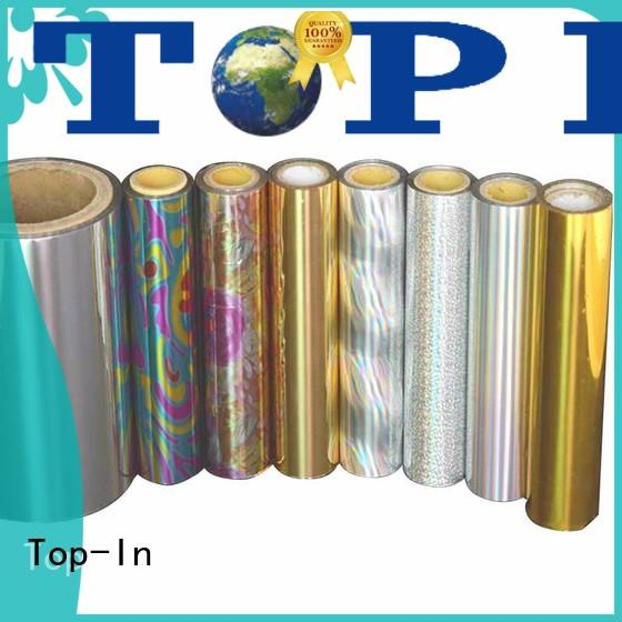 film transparent holographic film glue for toothpaste boxes Top-In