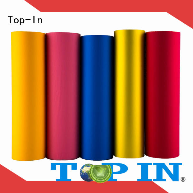 Wholesale food soft touch lamination film easy to use Top-In Brand
