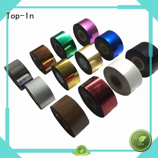 Top-In Toner foil factory price for birthday greeting cards