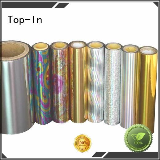 Top-In Brand flexible kinetic effects medicine boxes holographic lamination film