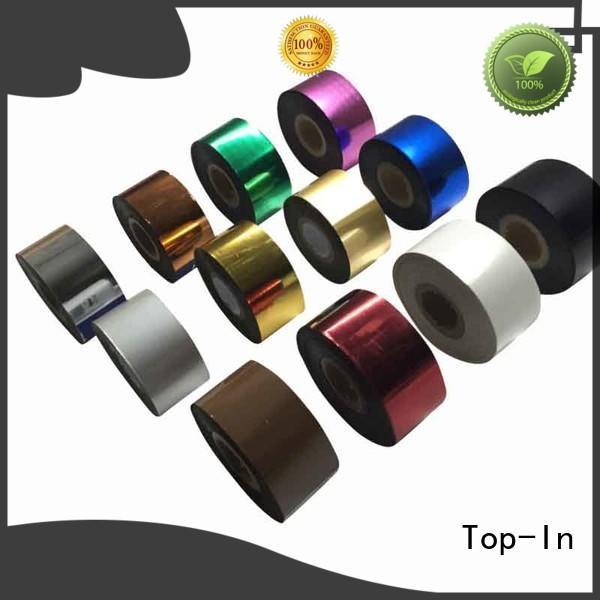 Top-In Toner foil design for certificates