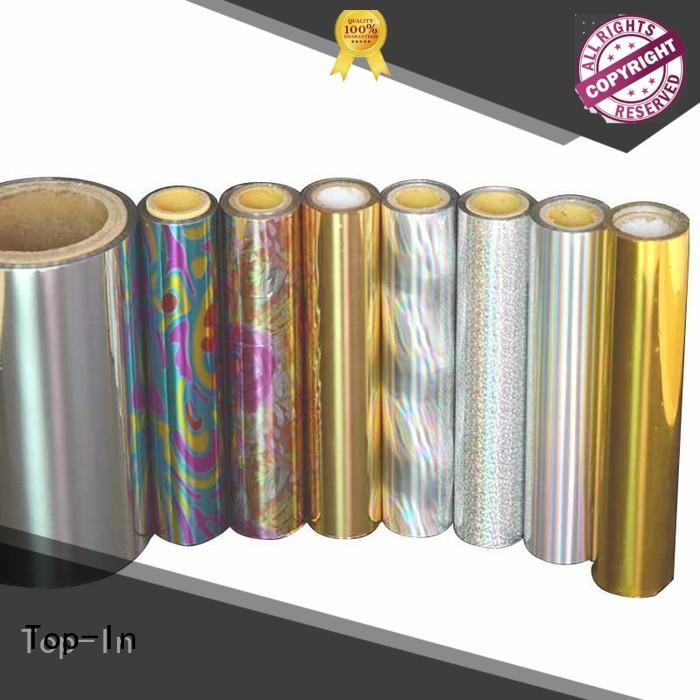 Top-In durable laser film manufacturer for cigarette packets