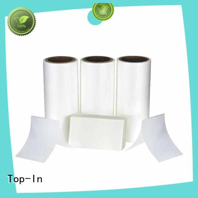 Top-In antiscrtch thermal lamination film directly sale for shopping bags