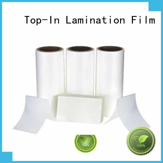 Top-In best selling bopp film manufacturers antiscrtch for shopping bags