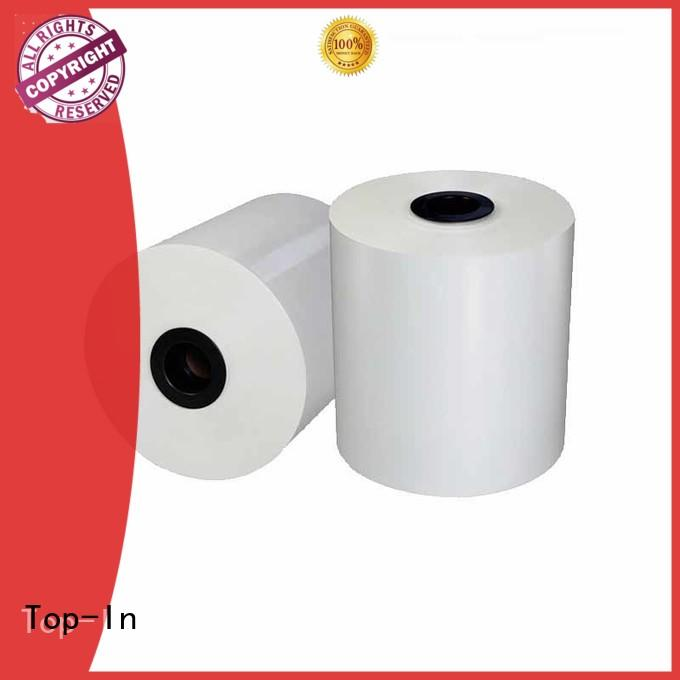 Top-In white bopp from China for book covers