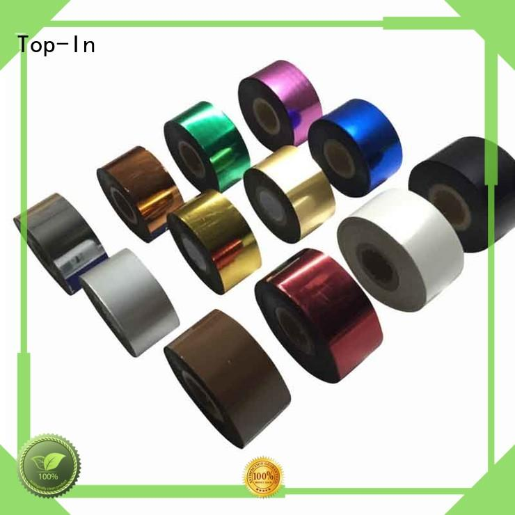 Top-In colorful heat transfer film factory price for birthday greeting cards