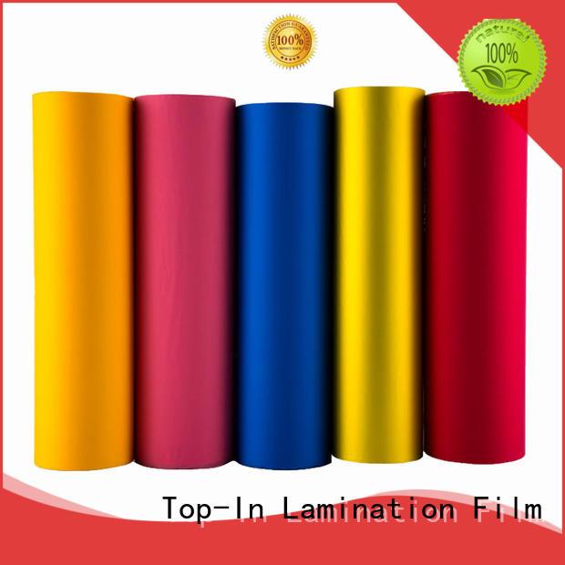 Top-In velvet film personalized for digital prints