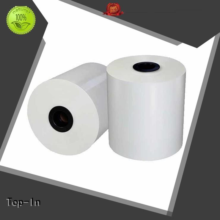 food packaging brochures white bopp popular Top-In Brand company
