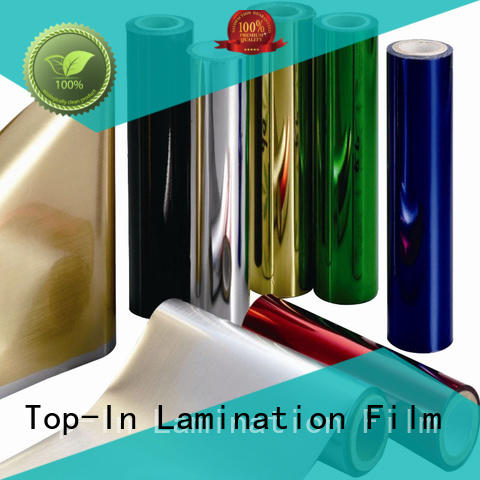 Top-In film metallic film supplier for medicine packaging