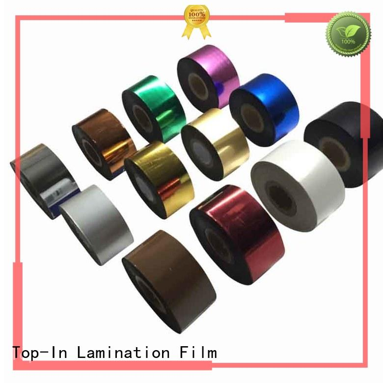 Top-In various hot stamping foil supplier for birthday greeting cards