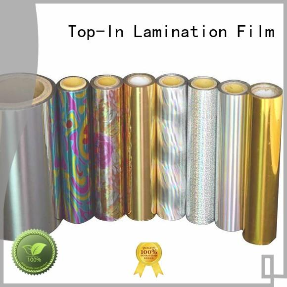 Top-In laser film series for cigarette packets