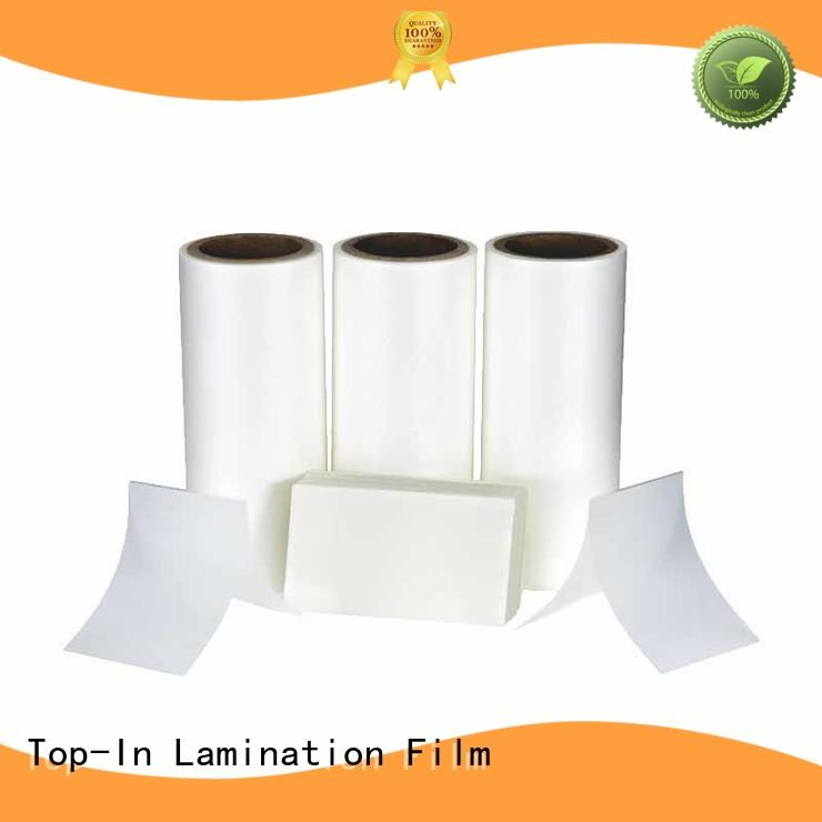 Top-In 30mic Anti-scratch film best seller for paper box