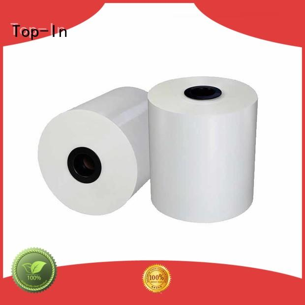 Top-In 24mic white bopp wholesale for posters