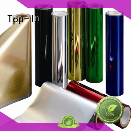 silver pet film manufacturers gold for alcohol packaging Top-In