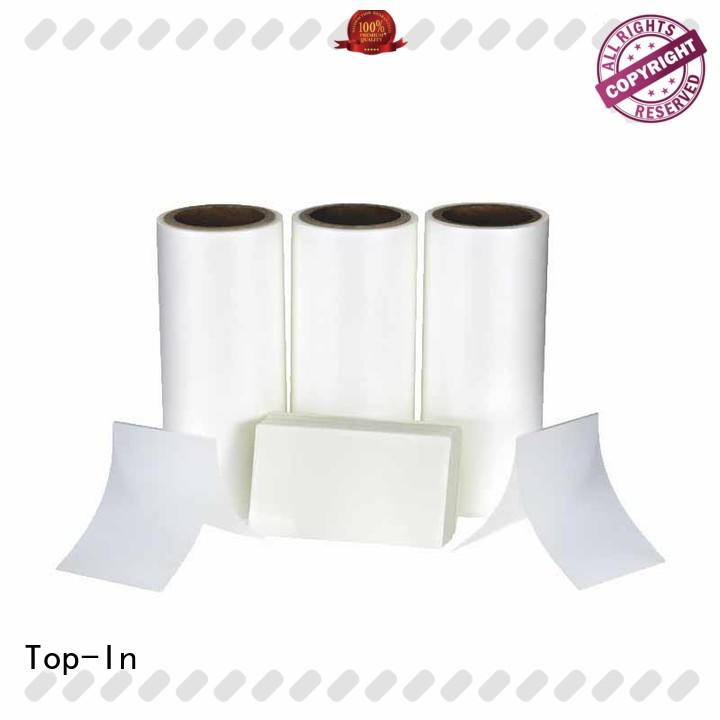 Top-In antiscrtch bopp film manufacturers best seller for paper box