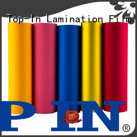 Top-In soft touch film supplier for paper box