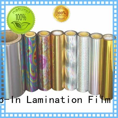 Top-In holographic film series for gift-wrapping paper
