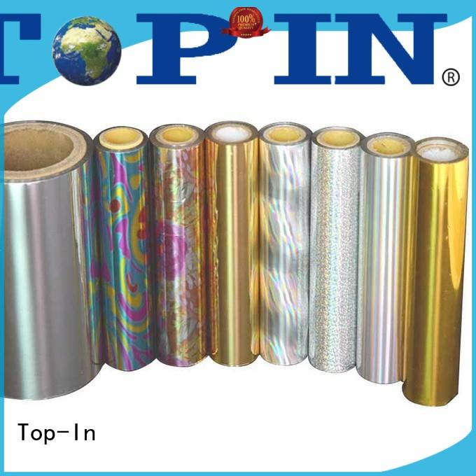 kinetic effects Custom glue holographic film fireworks packaging Top-In