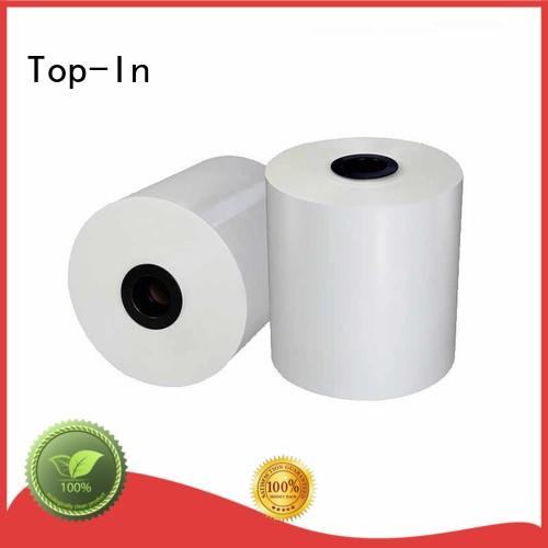 Top-In white bopp promotion for magazines