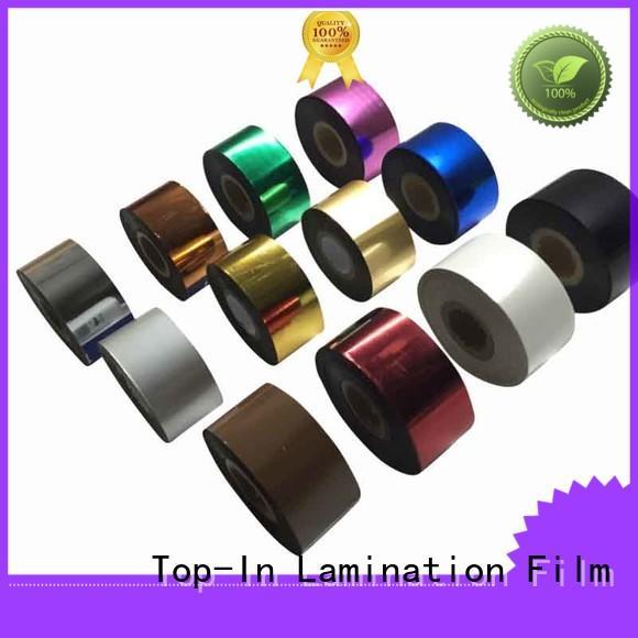 Custom optical effects heat Toner foil Top-In various colors