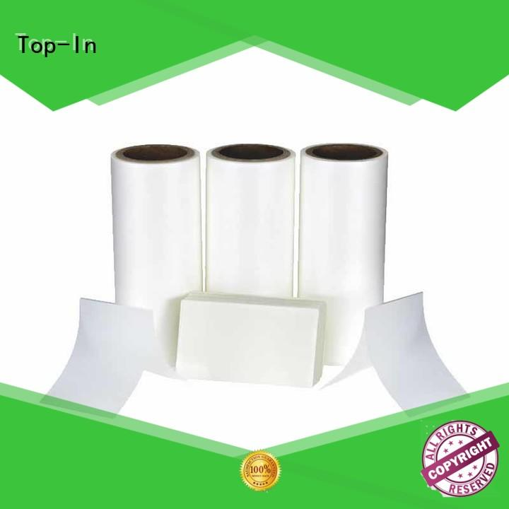 Top-In Anti-scratch film from China for paper box