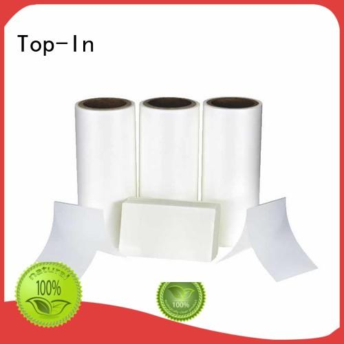 Top-In coated Anti-scratch film from China for brochures