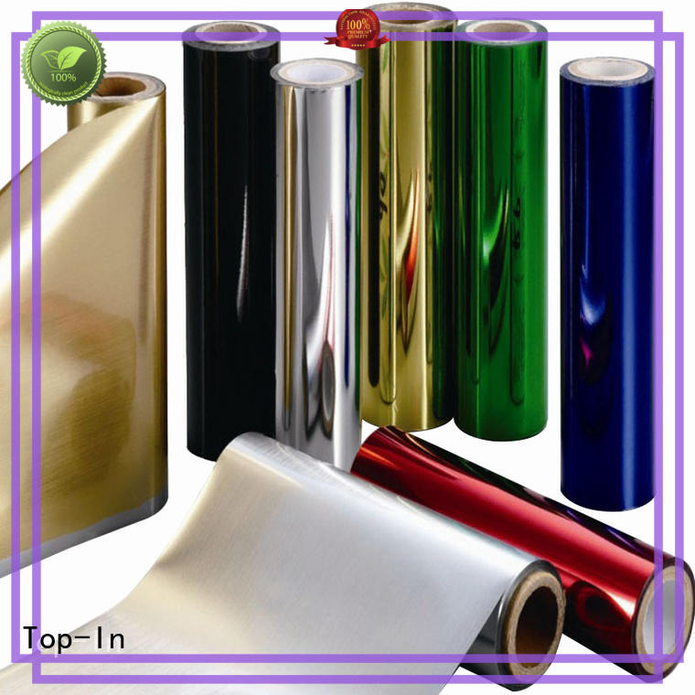 Top-In ultraviolet-proof metallic film supplier for decoration