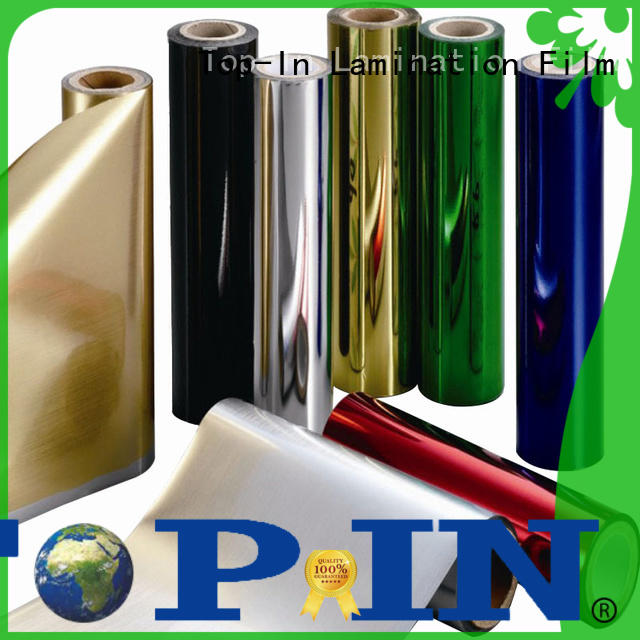 gold pet film customized for decoration
