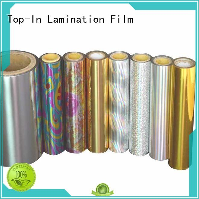 transparent holographic film film for cigarette packets Top-In
