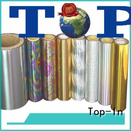 Top-In colorful holographic foil design for gift-wrapping paper