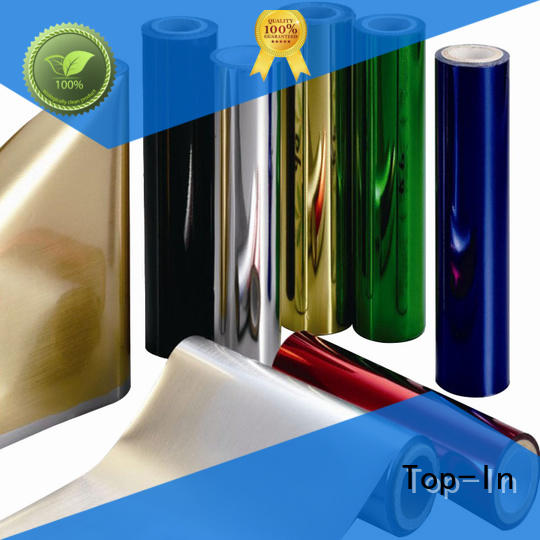 Top-In 24mic pet foil with good price for decoration
