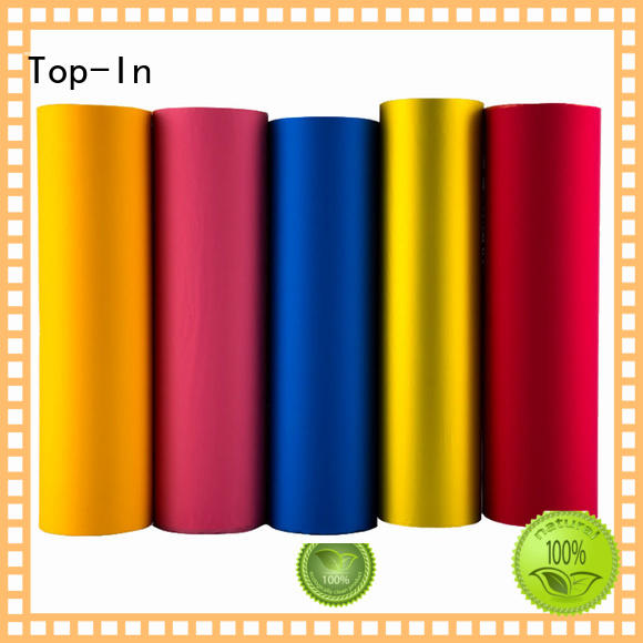 Top-In soft touch film factory for paper box