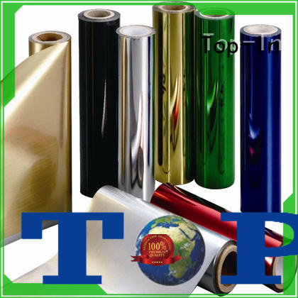 Top-In sun-proof metalized pet supplier for alcohol packaging