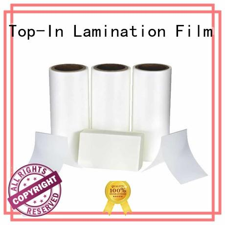 coated thermal lamination film manufacturer for packaging