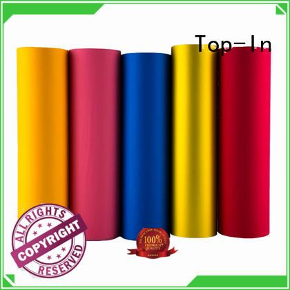 Top-In pink velvet film factory for bags