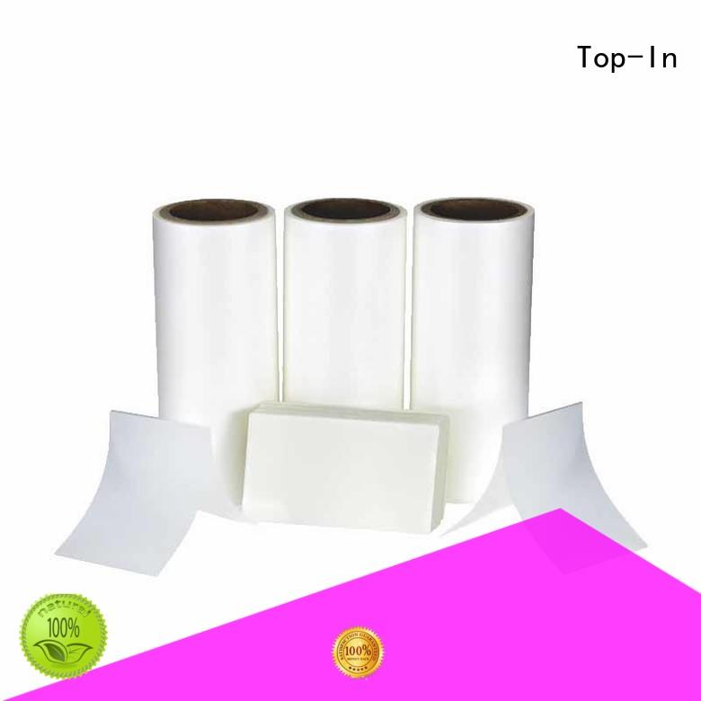 Top-In glossy Anti-scratch film best seller for brochures