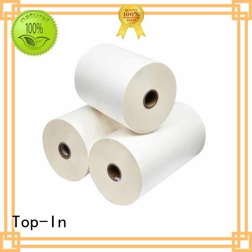 Top-In durable bopp thermal film factory for magazines
