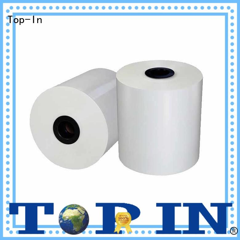 Top-In gloss bopp white film for picture albums