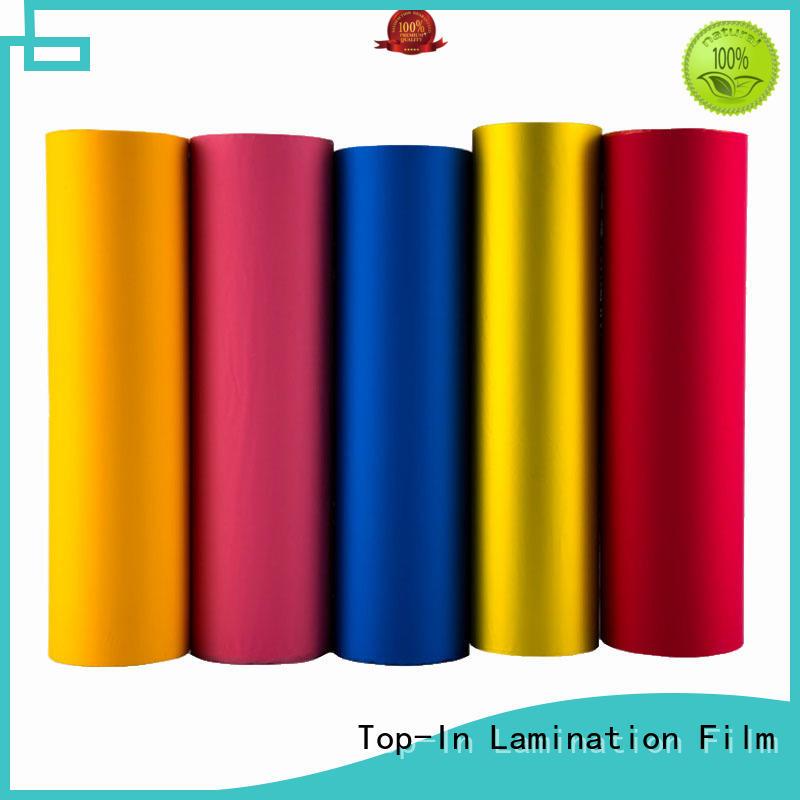 smooth velvet film customized for advertising prints