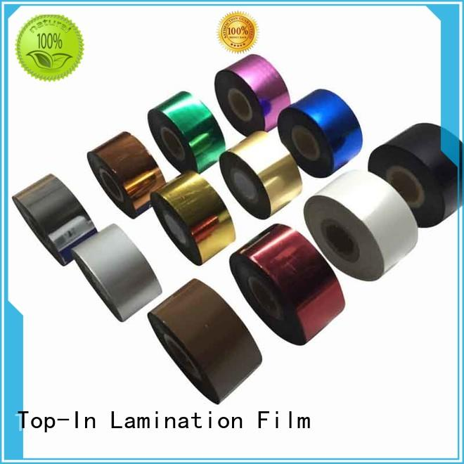 UV coating Toner foil manufacturer for birthday greeting cards
