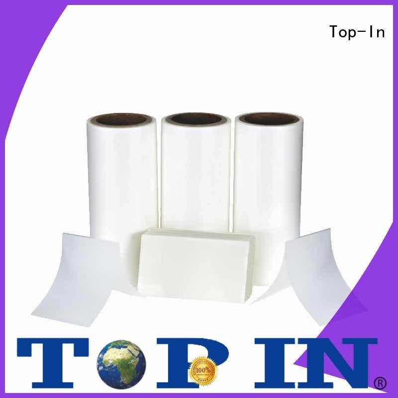bopp film manufacturers paper box Anti-scratch film Top-In Brand