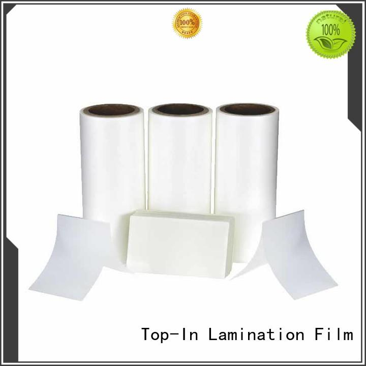 thermal food packaging Anti-scratch film posters glossy Top-In company