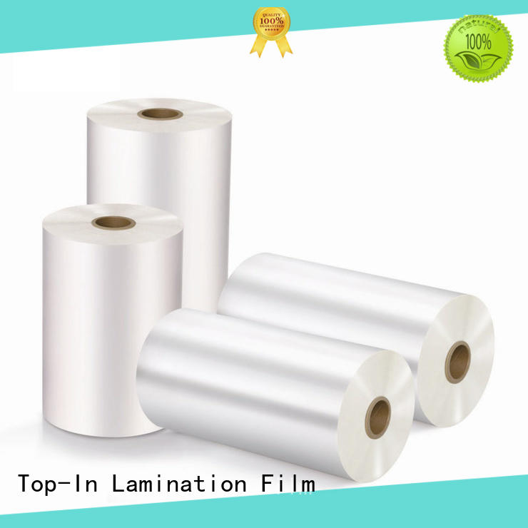Top-In super bonding film customized for magazines