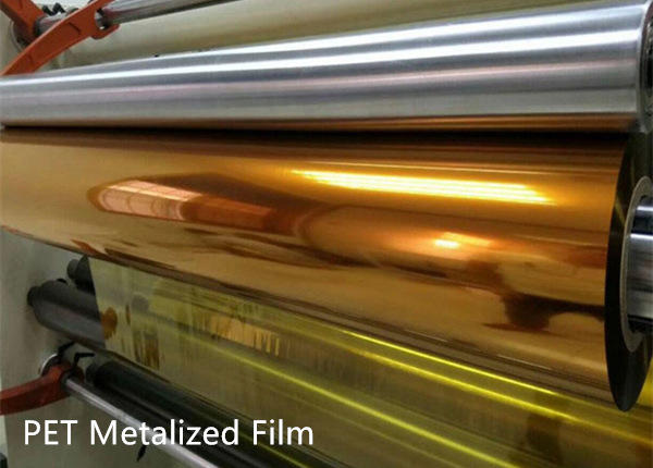 gold metalized polyester film company, metallic metalized film factory